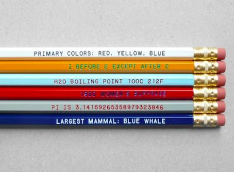 Cheat Sheet Pencils