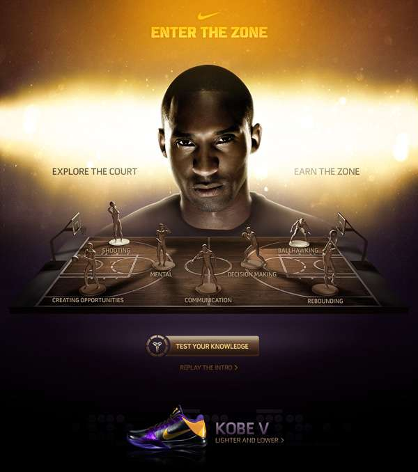 Kobe Bryant Enter The Zone Challenge