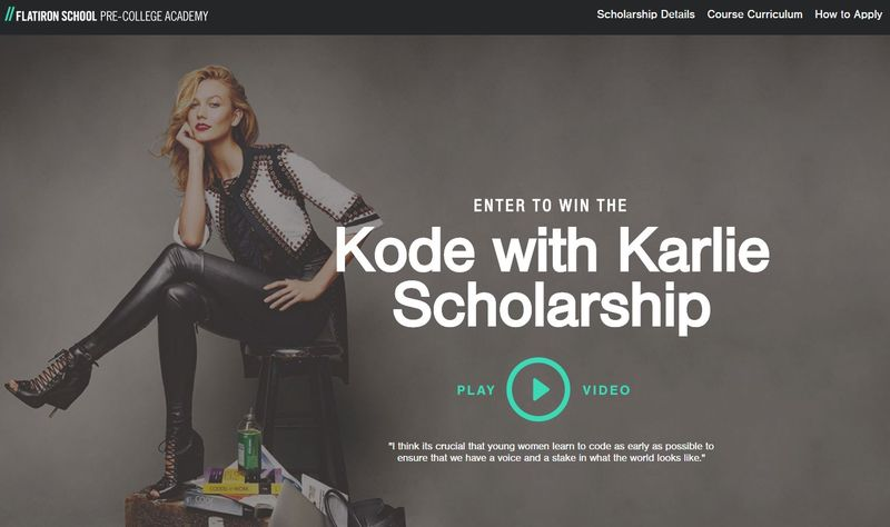 Model-Funded Tech Scholarships