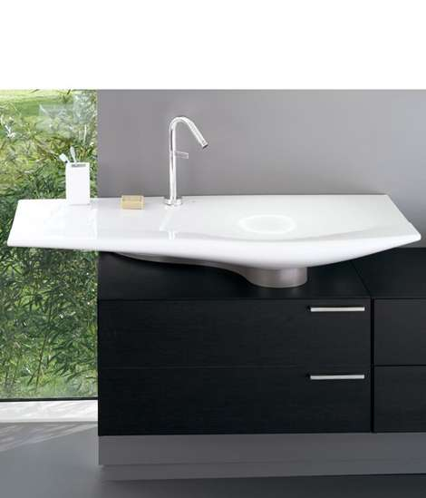 Shell-Inspired Sink