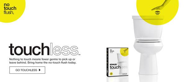 Touchless Toilet Flushers