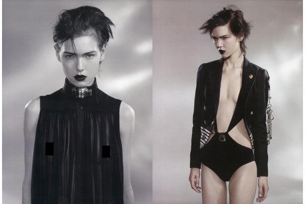 Gloomy Gothic Fashion