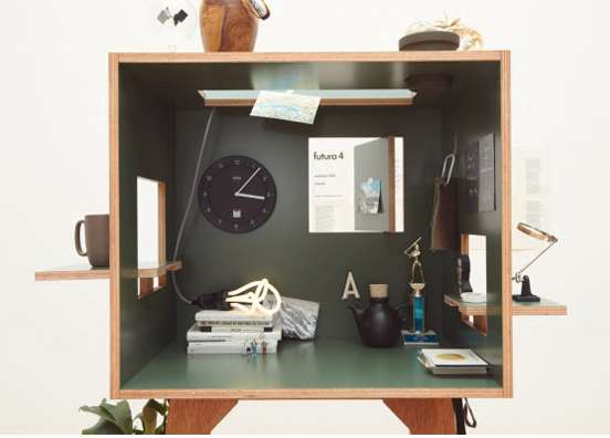 Quirky Cubic Workstations