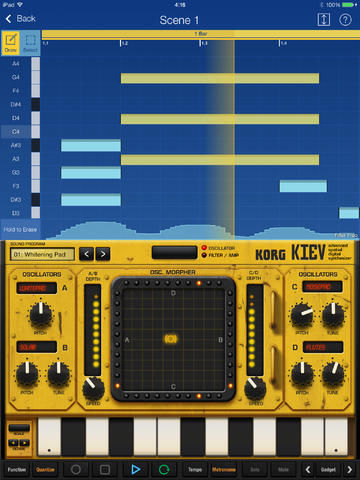Mobile Synthesizer Apps