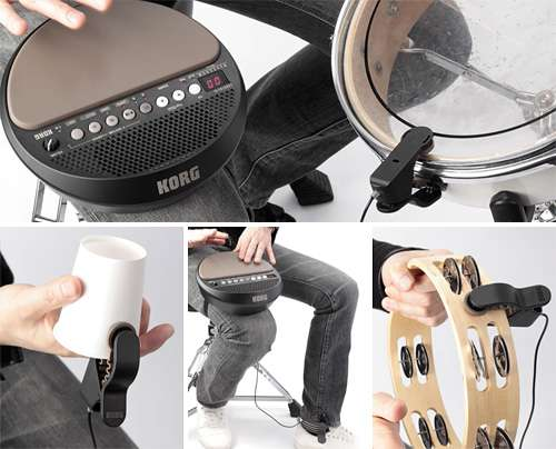 High-Tech Portable Percussions