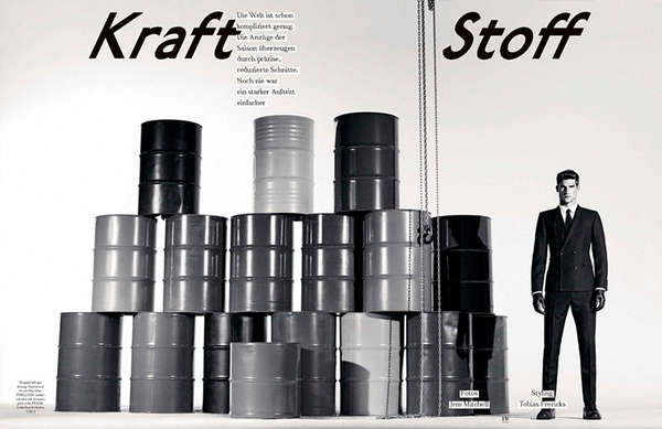 Kraft Stoff GQ Style Germany