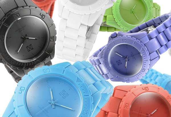 Crayon-Colored Timepieces