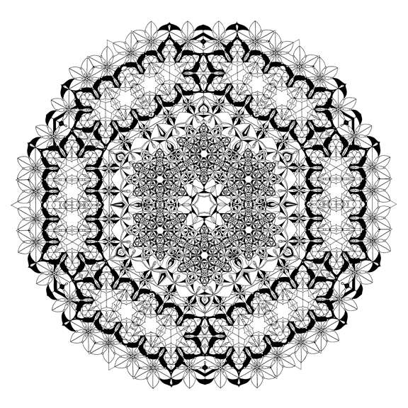 Sacred Geometric Drawings