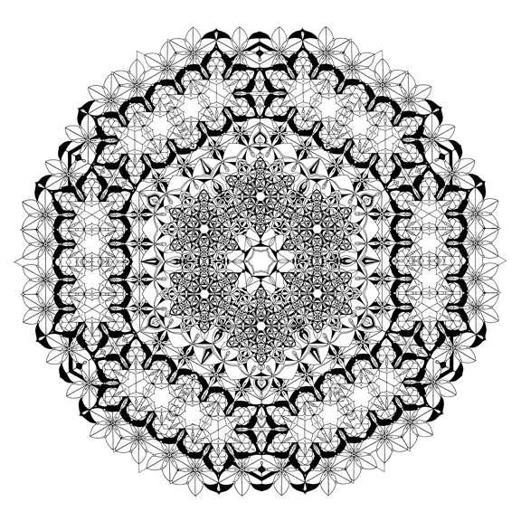 Sacred Geometric Drawings