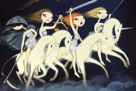 Girl Power Fairytale Art