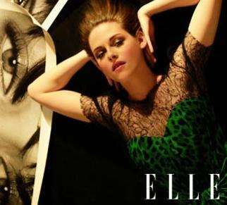 kristen stewart covers elle june 2010