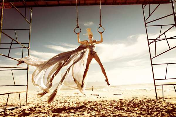 Suspended Fashion Snapshots