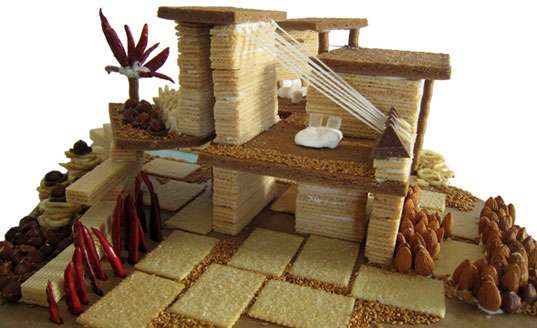 Lavish Gingerbread Cribs
