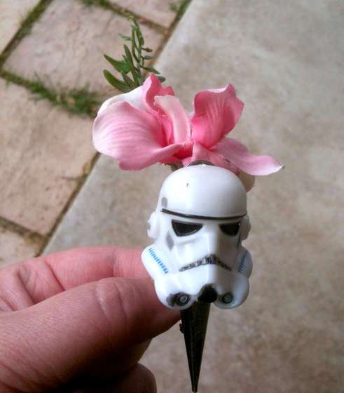 Stormtrooper Boutonnieres