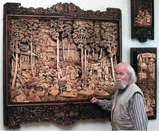 Rural Wood Carvings