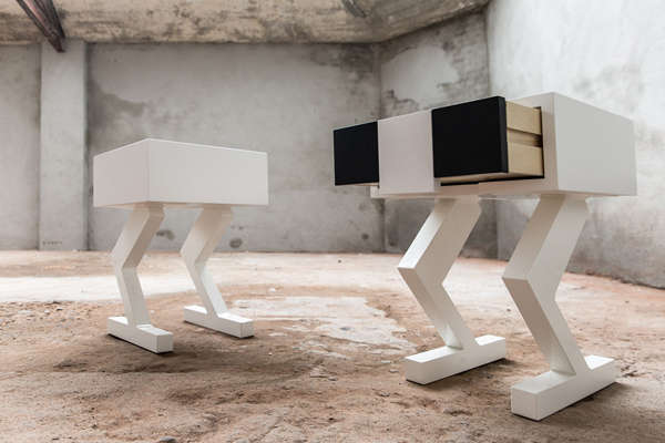 Urban Robot-Like Furniture