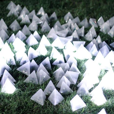 Flashing Pyramid Installations