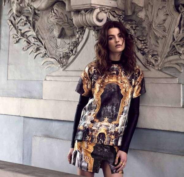 Baroque Opulence Streetwear