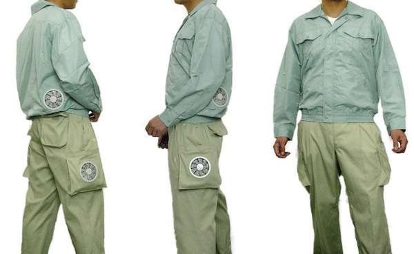 Kuchofuku Air-Conditioned Pants