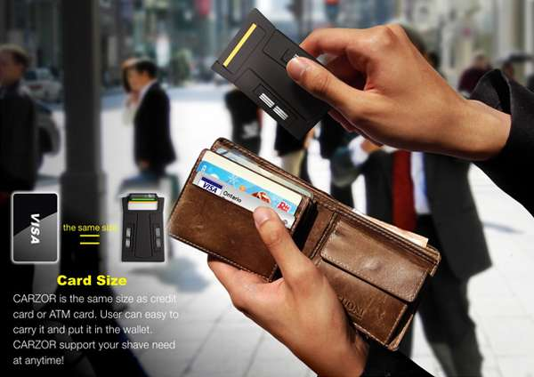 Credit Card-Thin Shavers