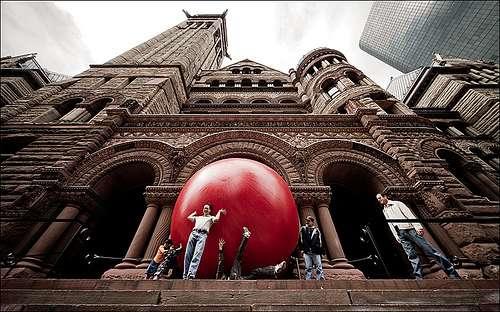 Giant Urban Balls