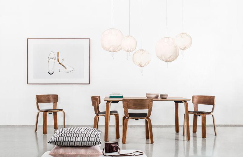Drawstring Pendant Lamps