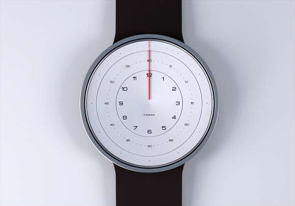 Deconstructed Dial Timepieces