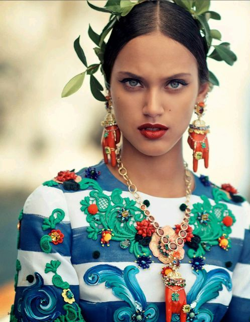 Entirely Patterned Editorials