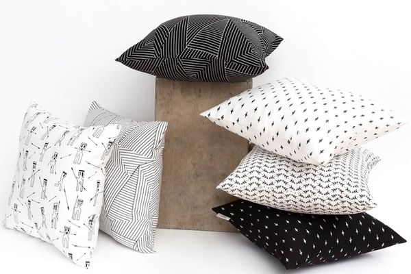 Elegantly Patterned Pillows