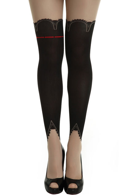 Burlesque-Inspired Hosiery