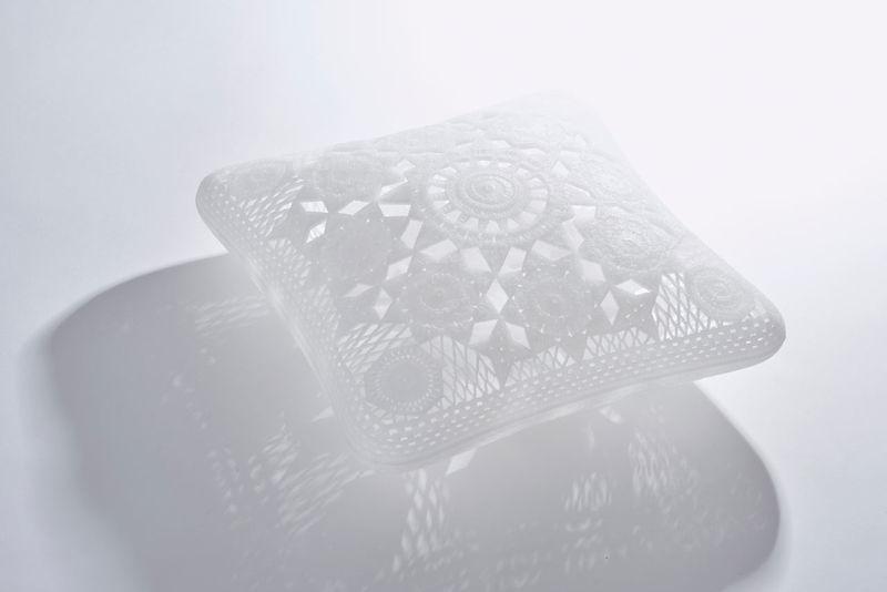 Faux-Lace Plastic Pillows