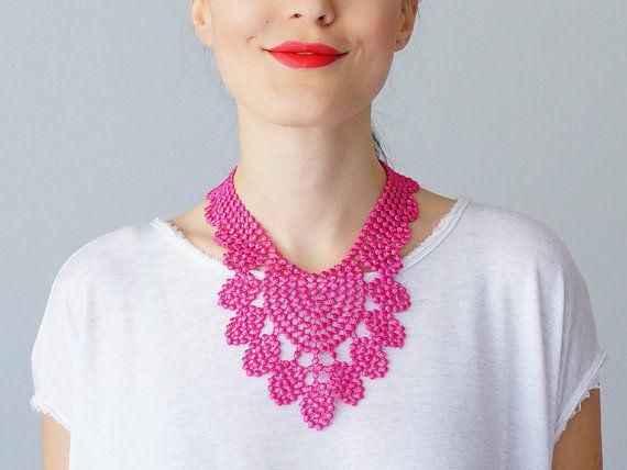 Laser-Cut Lace Accessories