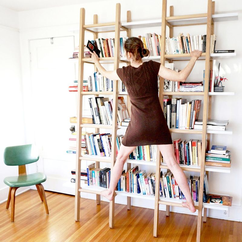 Climbable Bookshelf Units