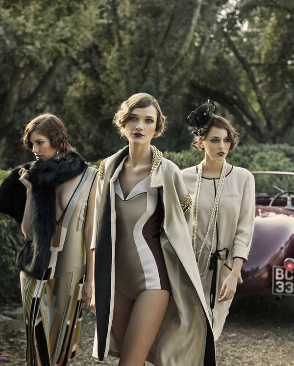 20s Inspired Sorority Editorials Ladies Magazine 39 Gatsby