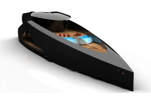 Sleek Ebony Luxury Yachts