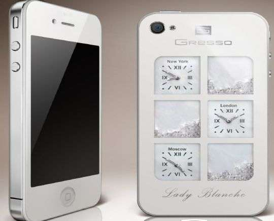 Lady Blanche iPhone Case