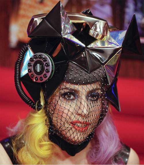 lady gaga headpiece