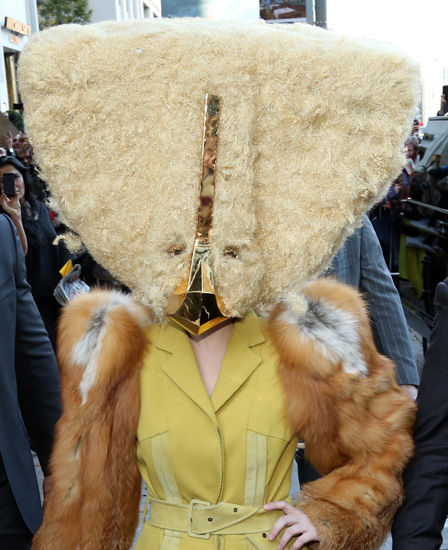 Outrageously Odd Hair Headpieces