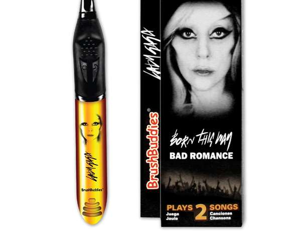 Lady Gaga Toothbrush