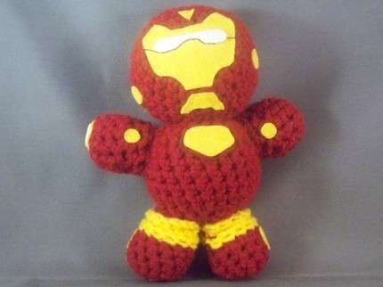 Knitted Comic Characters