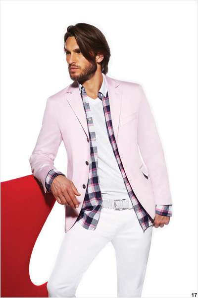 Pastel Pink Menswear