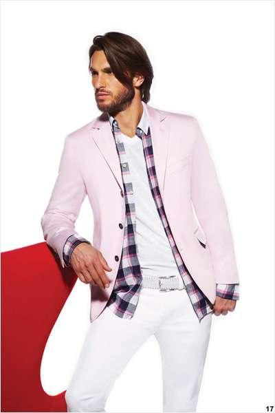 Pastel Pink Menswear