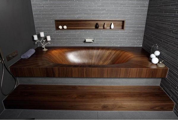 Fluid Wooden Tubs