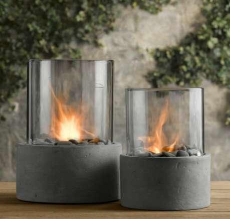 Posh Indoor Campfires