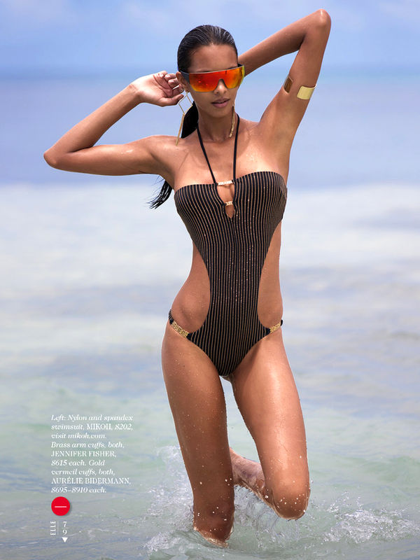 Frolicking Swimsuit Editorials