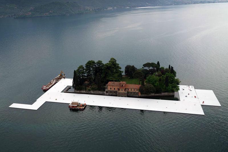 Enormous Pier Installations