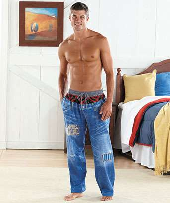 Masculine Denim Drawers