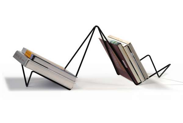 30 Quirky Magazine Racks - From Diamond-Shaped Furniture to