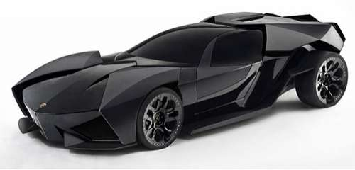 batmobile lamborghinis the lamborghini ankonian looks like one mean machine. Black Bedroom Furniture Sets. Home Design Ideas