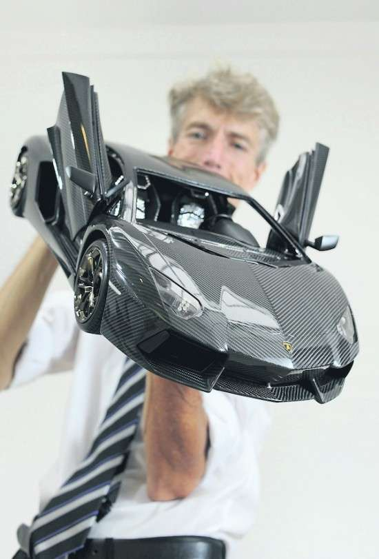 Lamborghini Aventador miniature